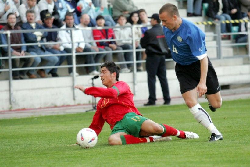 VIDEOMEENUTUS | Täna 10 aastat tagasi lõi Ronaldo Eestile värava