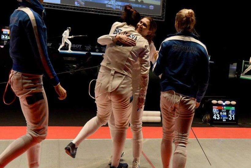 VÄGEV! Eesti epeenaiskond võitis EMil hõbemedali!