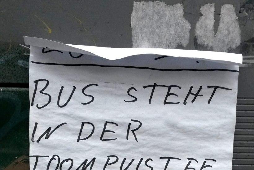 FOTOD | TRAMMILIIKLUSE SEISAK: inimesed ootavad ja ootavad, aga trammi ei tule
