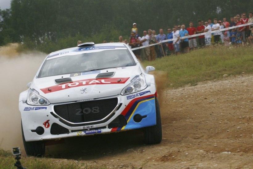 Kohalik ralliäss stardib Rally Estonial võimsa masinaga
