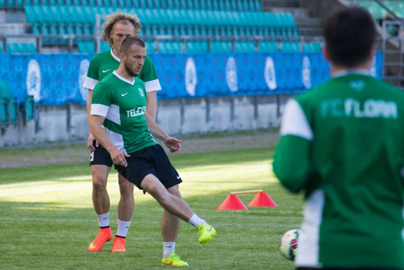ÕHTULEHE VIDEO ja GALERII | Norbert Hurt euromängu eel: mõlemad meeskonnad lähevad väravat lööma