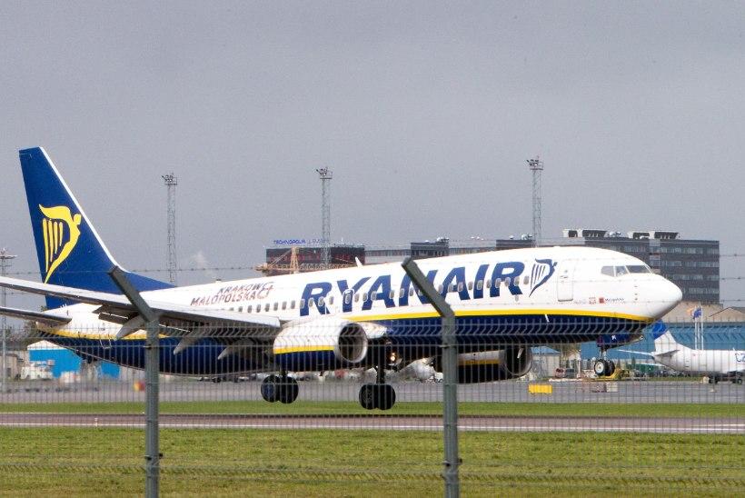 Ryanairi lennupiletid maksavad pühapäeval vaid 19,85 eurot