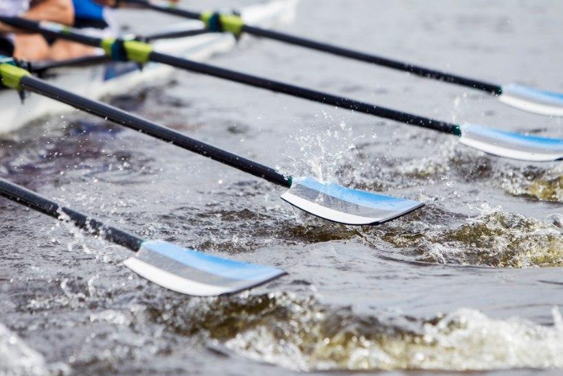 Eesti kahepaat sai MK-etapil tagantpoolt kolmanda koha
