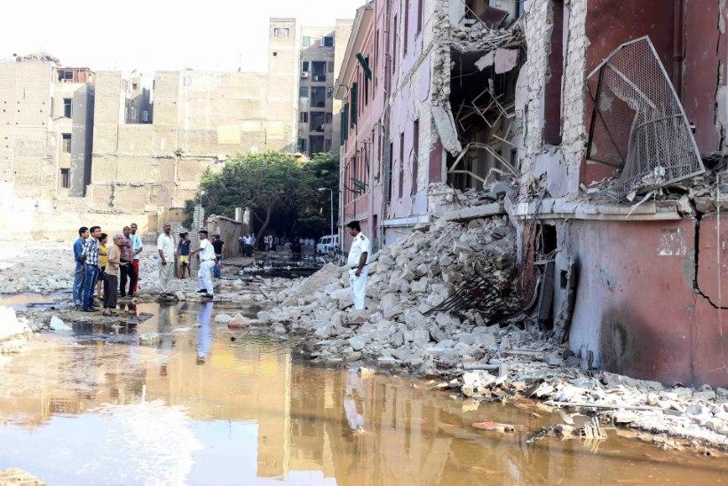 Kairos plahvatas Itaalia konsulaadi ees pomm, hukkus üks inimene