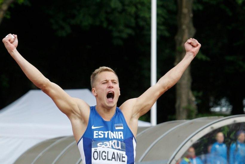 JANEK ÕIGLANE – tulevikumees, keda õnnitles maailmameister Dvorak ja kiitis olümpiavõitja Nool