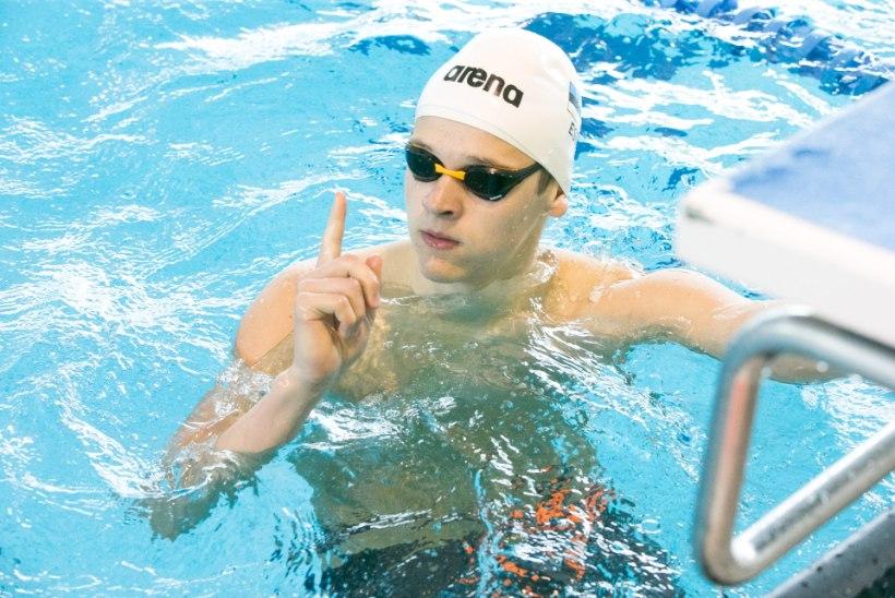 KULLASADU: Ujuja Kregor Zirk on Põhjamaade noorte meistrivõistlustelt võitnud juba kuus kulda