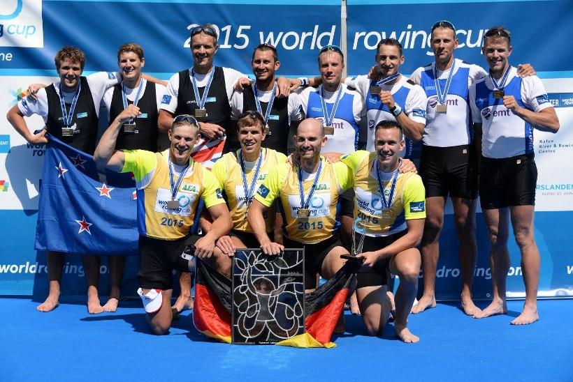 NII SEE JUHTUS | Sport 12. juulil: Janek Õiglane võitis pronksmedali, sõudjate ilus sõit, Djokovic kaitses tiitlit