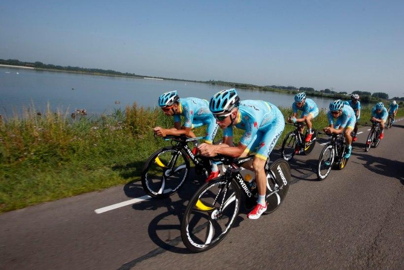 Astana lõpetas meeskondliku eraldistardi 5. kohaga, võitis BMC