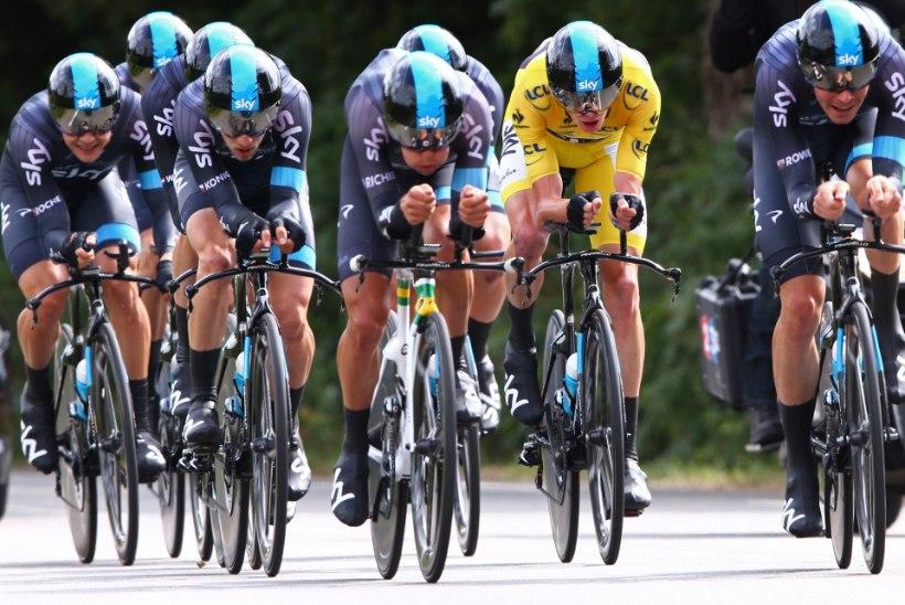 Tour de France'i üldliider Froome: Nibali suur kaotus üllatab