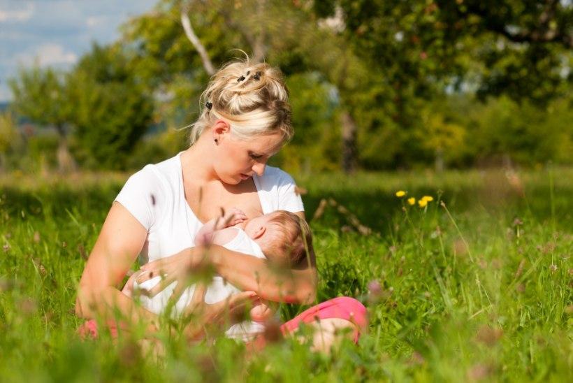 Rinnaga toitmine vähendab lapse leukeemiariski