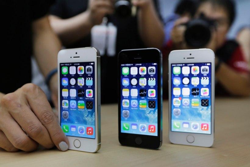 iPhone teeb teistele pika puuga ära