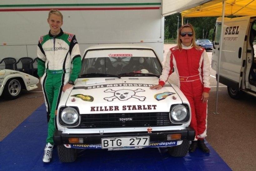 Viis korda kuulsa Dakari ralli läbinud rootslanna stardib Rally Estonial