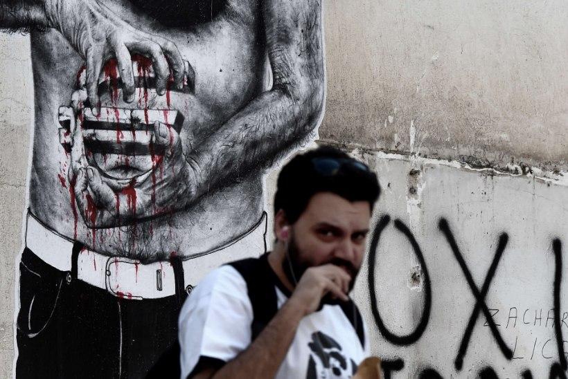 Kreeka valitsus esitas parlamendile võlausaldajatele lubatud reformieelnõu