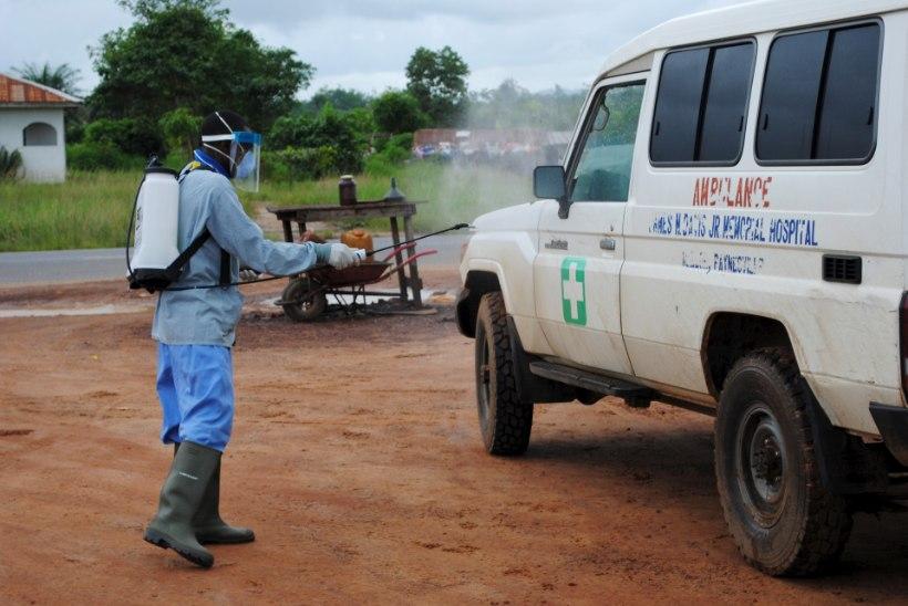 Uus Ebola viiruse puhang Libeerias: kuuest kinnitatud nakkusjuhtumist kaks on lõppenud surmaga