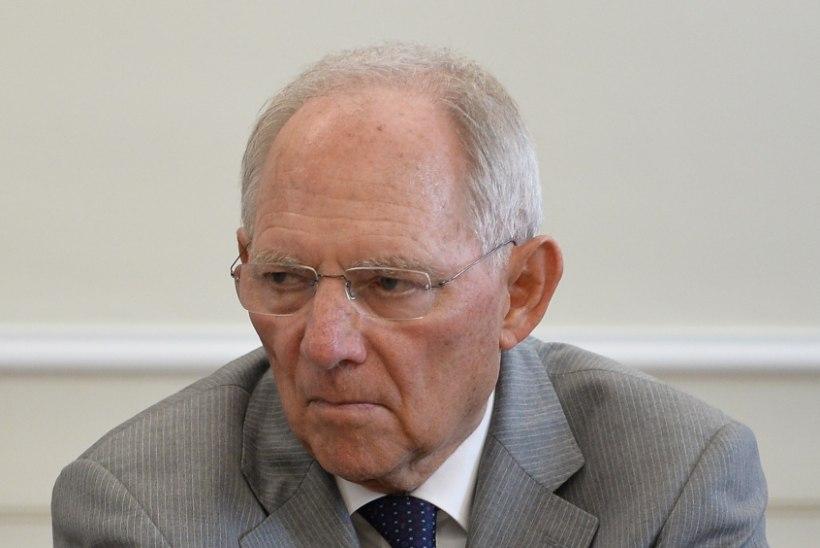 Schäuble: Kreeka võiks euroalast lahkuda