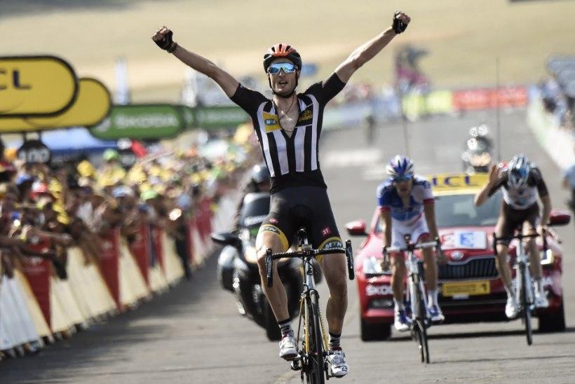 Tuuri 14. etapi võitis üllatusmees, Kangert 36.