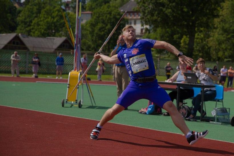 Suveuniversiaadil kulla võitnud Tanel Laanmäe parandas isiklikku rekordit!
