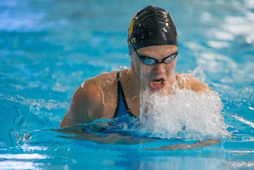 Ujuja Maria Romanjuk püstitas uue Eesti rekordi