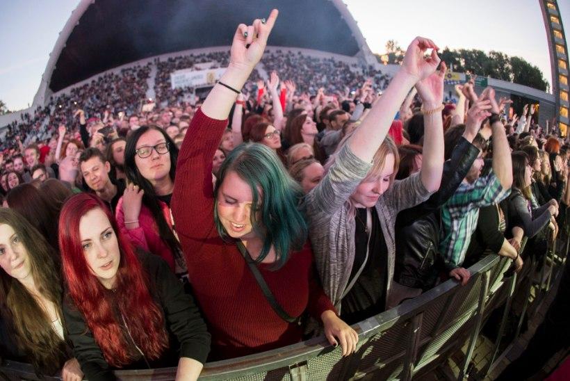 GALERII | Placebo hullutas Tallinna fänne