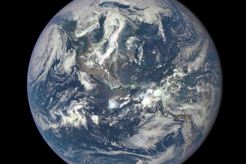 FOTOUUDIS | Planeet Maa 1,6 miljoni kilomeetri kauguselt kosmosest
