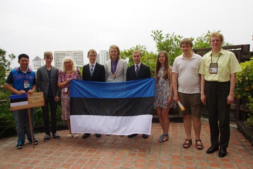 Rahvusvaheliselt matemaatikaolümpiaadilt toodi Eestisse pronksmedal