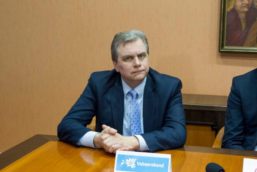 Andres Herkel   Vabaerakond ootab huviga uusi läbirääkimisi
