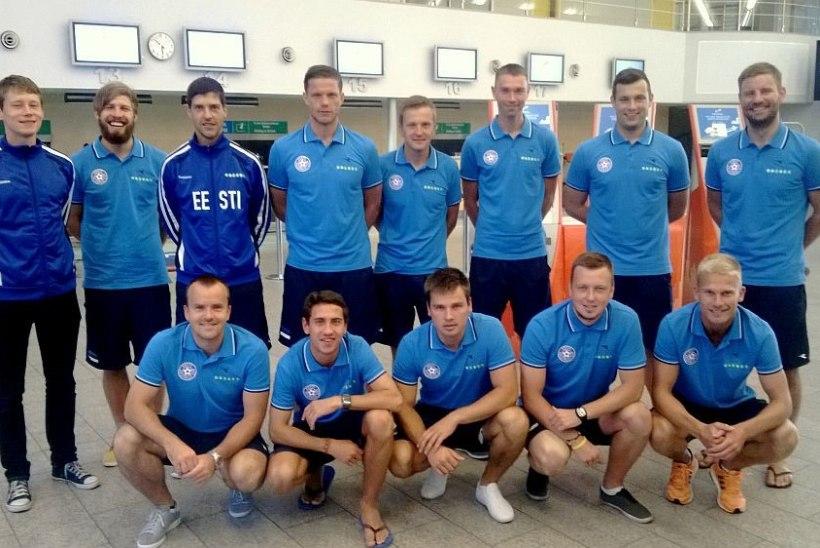 Rannajalgpallikoondis sõitis tugevale turniirile Valgevenesse