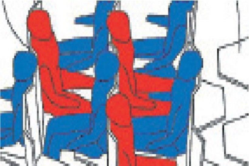 Risti-rästi või lausa püsti – on see lennureisijate tulevik?