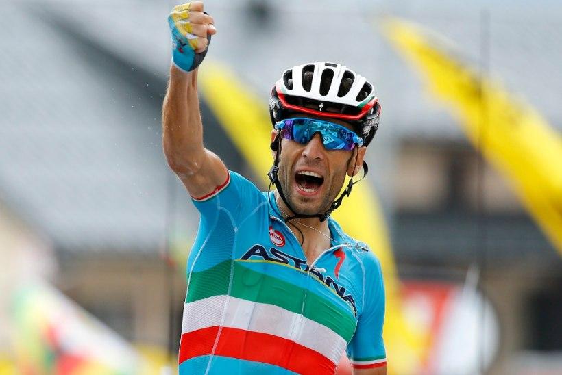 Nibali võttis võimsa sõiduga etapivõidu, Froome jätkab liidrina