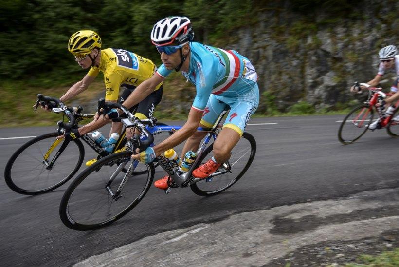 Tige Froome sõimas lõpuks etapi võitnud Nibali läbi