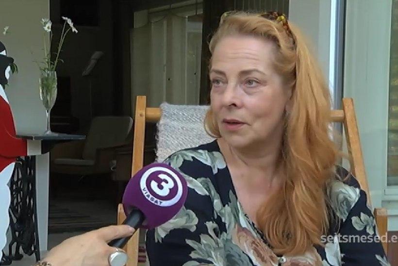 TV3 VIDEO   Ülle Kaljuste idüllilise suvekodu juures elab rääkiv kass