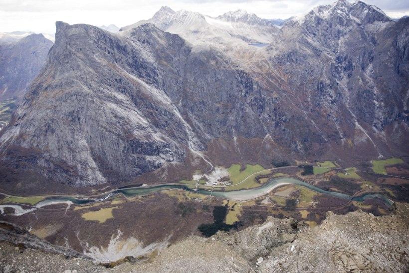 Norras päästeti 600 meetri kõrguselt kaljunukilt kaks eestlast