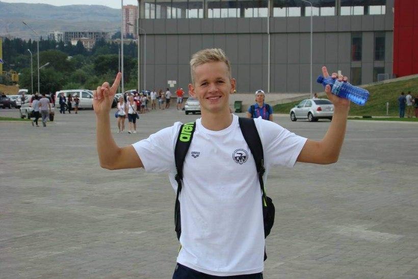 Kregor Zirk võitis noorte olümpiapäevadel kuldmedali!