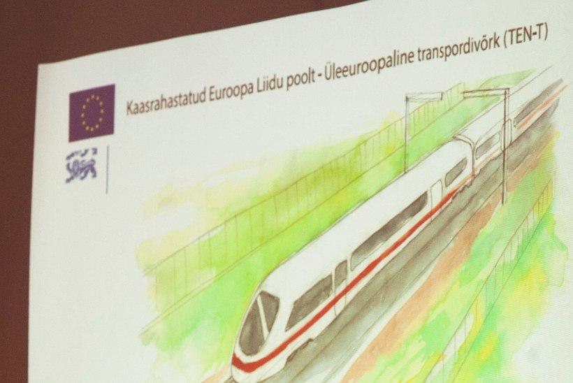 Ligi 70 protsenti eestlastest toetab Rail Balticu ehitamist