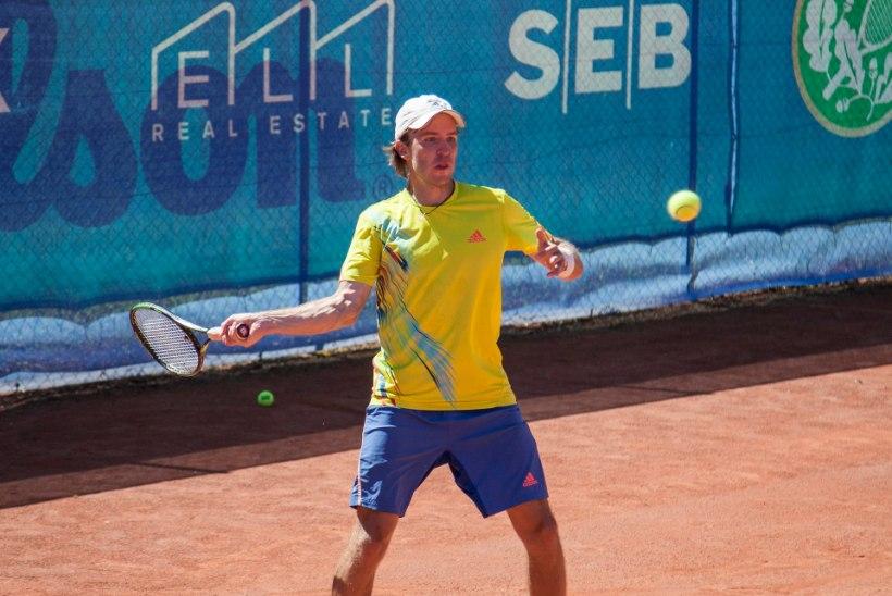 Tennisemeistrivõistlustel selgusid finalistid