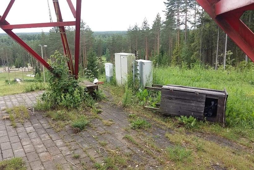 Äsja Eesti parimaks valitud tervisespordirajatisel märatsesid vandaalid