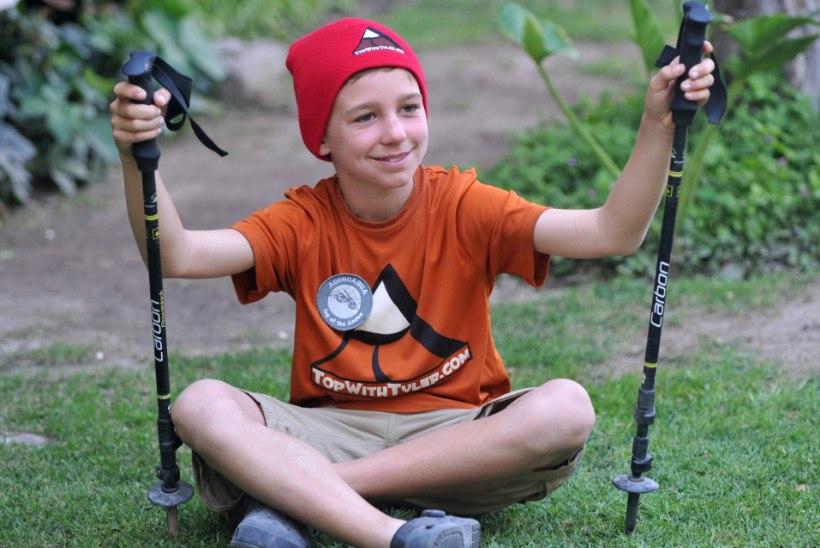 Väike Tyler soovib vallutada Džomolungma
