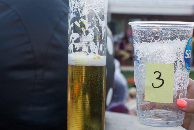 Õllesummeril valatakse vaadiõlut pisut kitsilt: poole liitri eest makstes sageli poolt liitrit ei saa