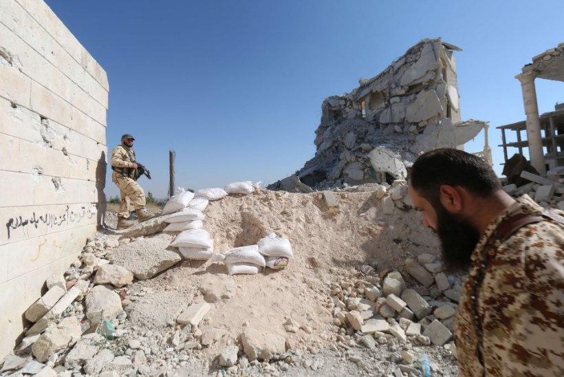 USA ja liitlasväed andsid Islamiriigile 16 õhulööki