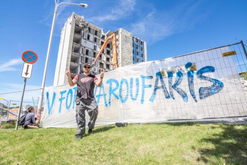Meeleavaldus Kreeka toetuseks: Kaur Kender räppis