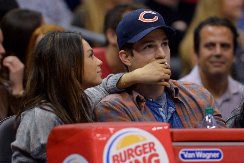 Hõissa pulmad! Ashton Kutcher ja Mila Kunis abiellusid!