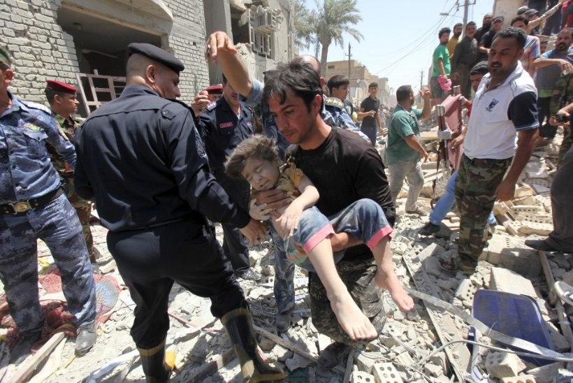 Iraagi õhuvägi pommitas Bagdadi