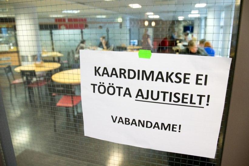 Swedbanki kaardimaksed olid jälle häiritud