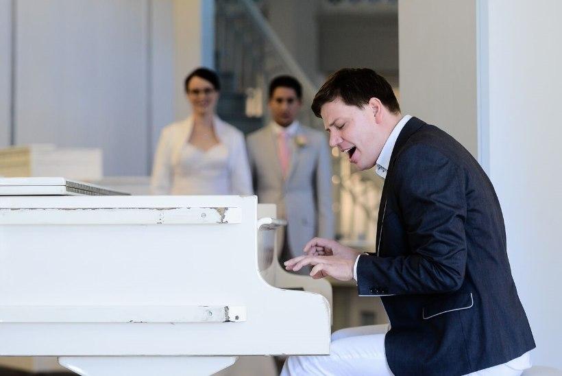 Alen Veziko: intiimses pulmas võib hääl hoopis rohkem väriseda kui suurel kontserdil
