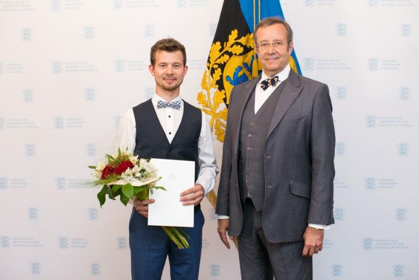 Jalmar Vabarna sai täna noore kultuuritegelase preemia