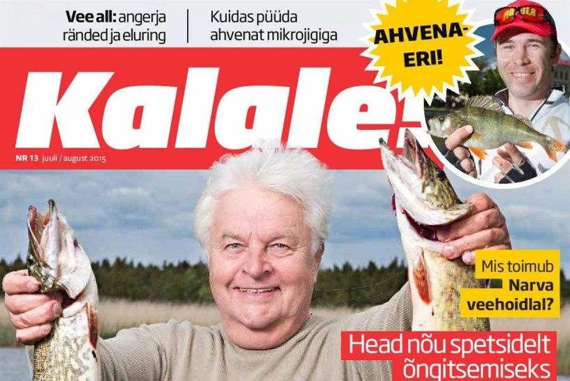 Ilmunud on ajakirja Kalale! juulinumber
