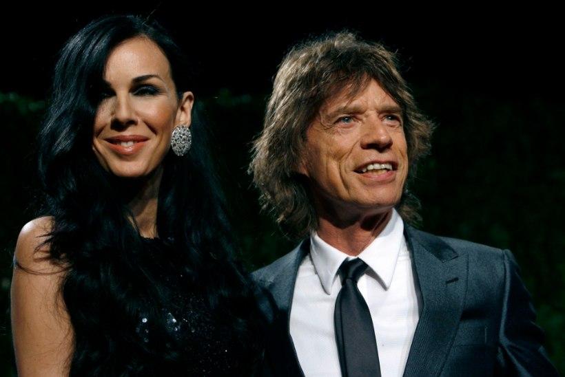 Mick Jagger ihaleb noort modelli