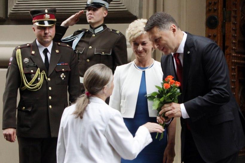 Läti uus president lubas kodumaal vilkurit mitte kasutada
