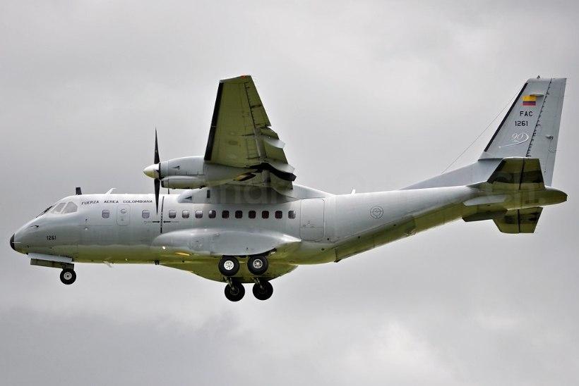 Kolumbias kukkus alla sõjalennuk, hukkus 11 inimest