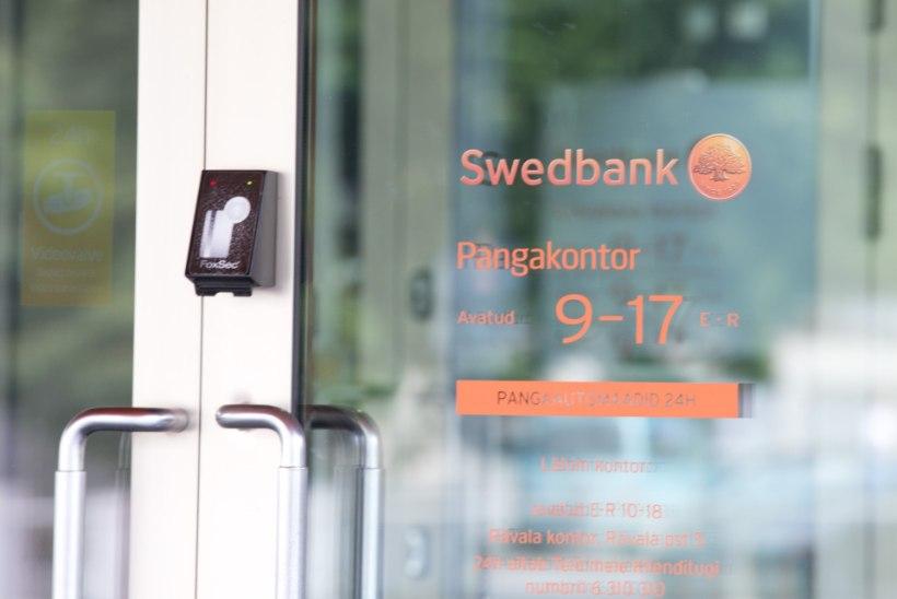 Swedbanki internetipank ja kaardimaksed töötavad taas häireteta